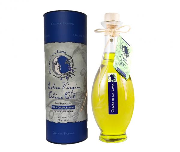 Ánfora de aceite de oliva virgen extra ecológico
